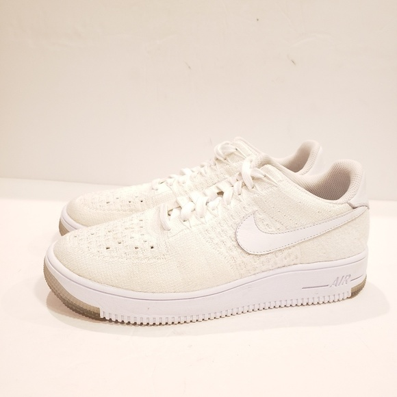 best service 87c88 8ab39 Nike Women's AF1 Flyknit Low white size 9